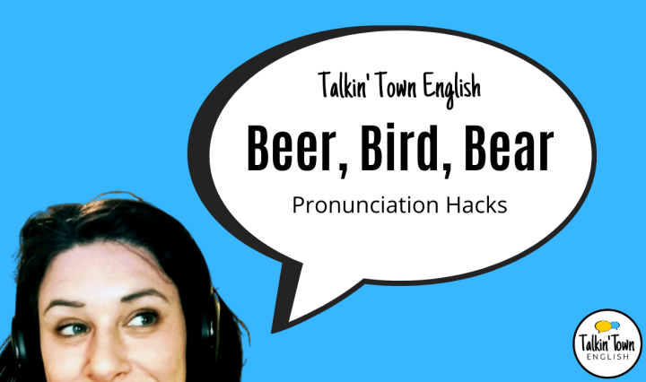 How to pronounce words like beer, bird, and bear.