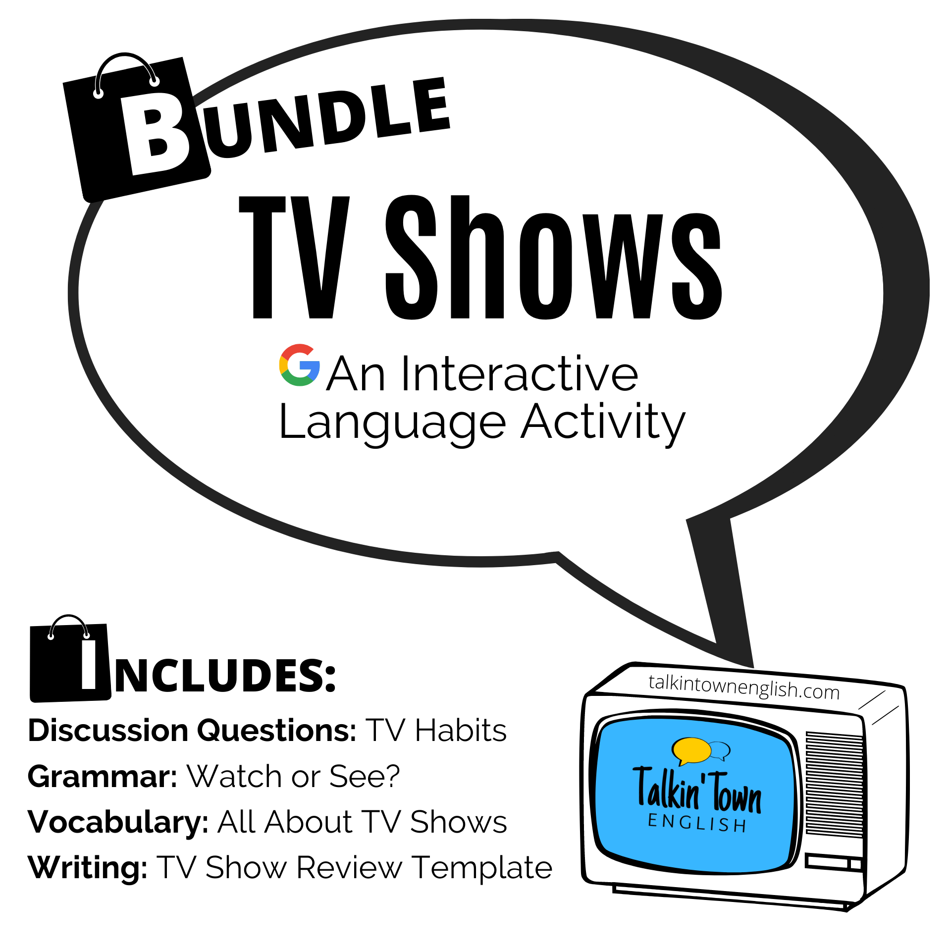 ESL Lesson plan about TV Shows and Habits