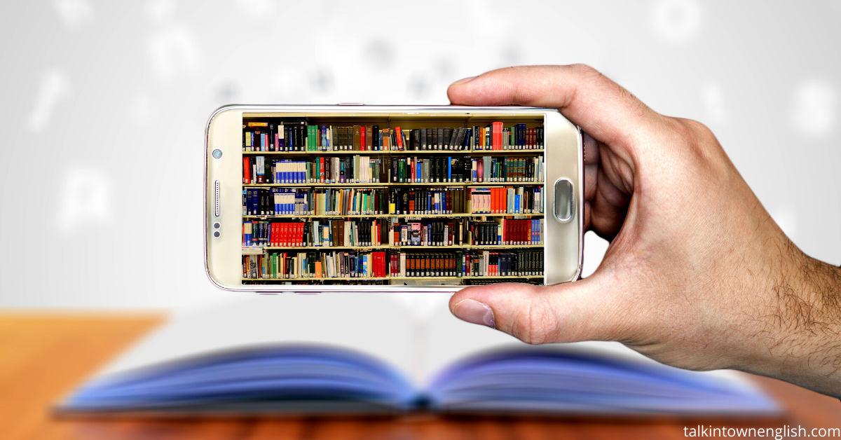 Students can use apps to download ebooks